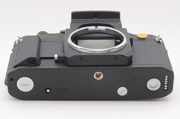 [未使用品] Canon New F-1 50周年記念モデル 24金バッジ AEファインダー 元箱一式 限定1000台 #4011 キャノン_画像7