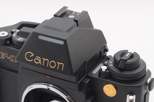 [未使用品] Canon New F-1 50周年記念モデル 24金バッジ AEファインダー 元箱一式 限定1000台 #4011 キャノン_画像8