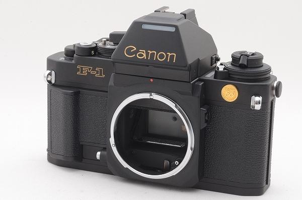 [未使用品] Canon New F-1 50周年記念モデル 24金バッジ AEファインダー 元箱一式 限定1000台 #4011 キャノン_画像2