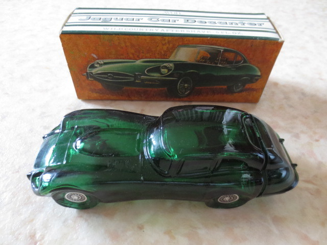 1960年ジャガーEタイプアンティークボトル★英国車・ルマン優勝車・JAGUAR E-TYPE・XKE・XKR・XJ・XF・昭和レトロ_素晴らしいコンディションです