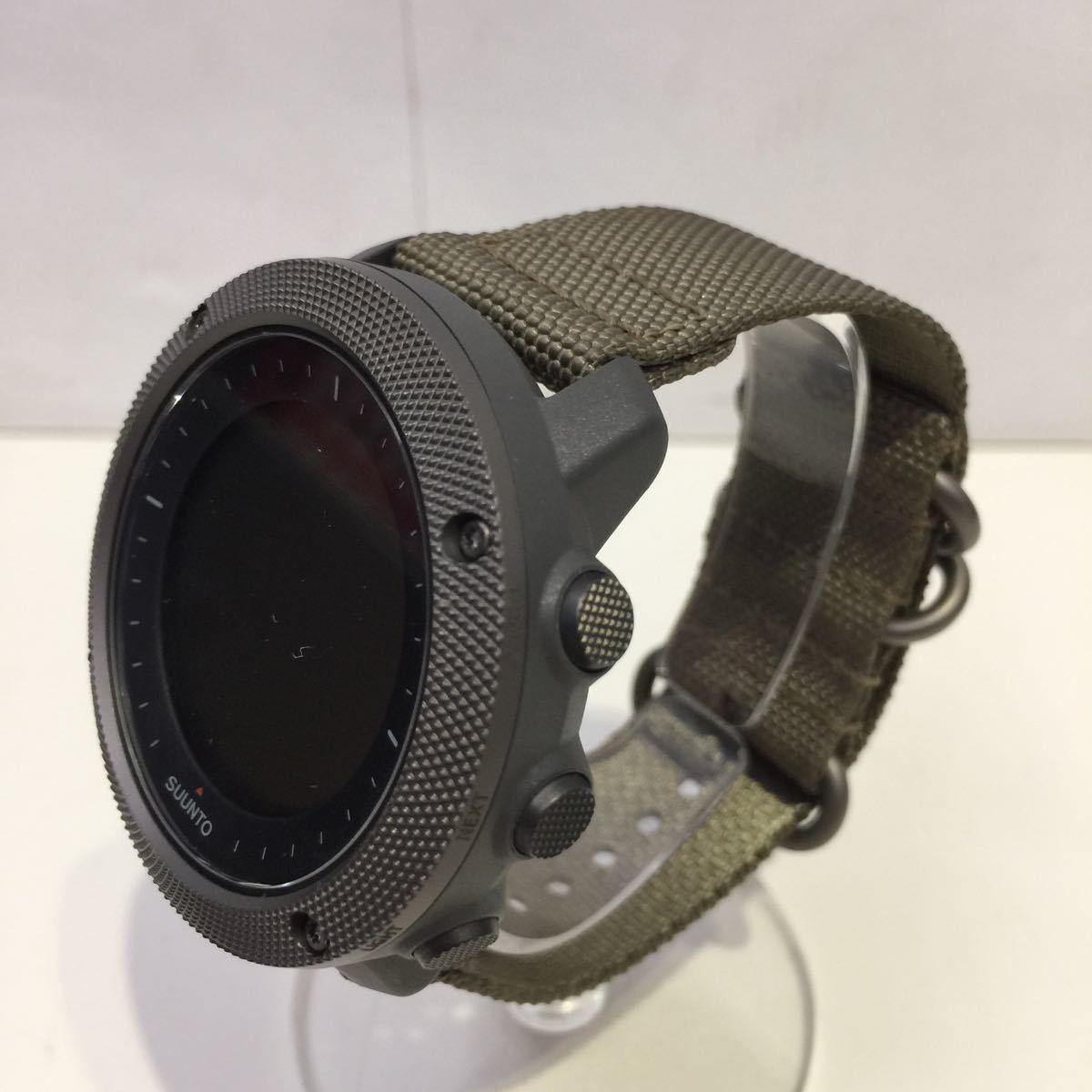 【SUUNTO スント】トラバースアルファフォリッジ TRAVERSE ALPHA FOLIAGE 腕時計 デジタル腕時計 デジタル アウトドアウォッチ アウトドア_画像3