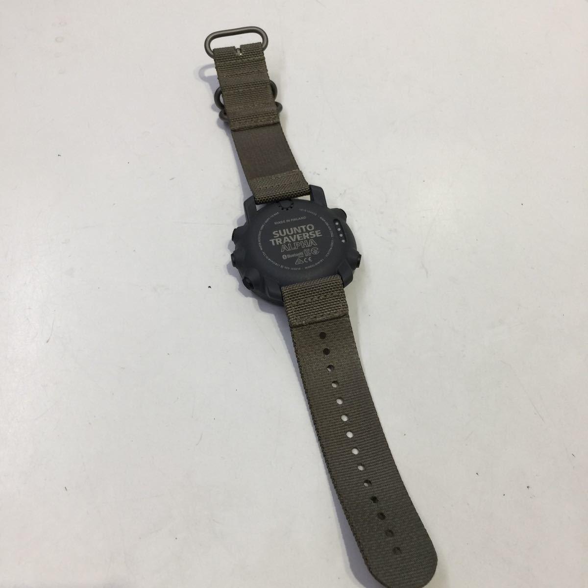 【SUUNTO スント】トラバースアルファフォリッジ TRAVERSE ALPHA FOLIAGE 腕時計 デジタル腕時計 デジタル アウトドアウォッチ アウトドア_画像8