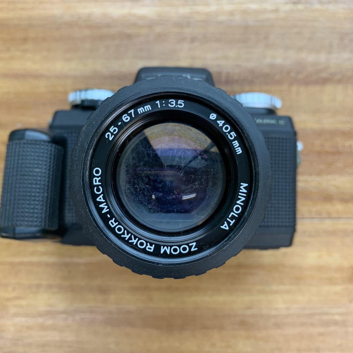 返品不可 ジャンク Nikon F 301 +minolta 110 zoom markⅡ 動作未確認 #j492_画像7