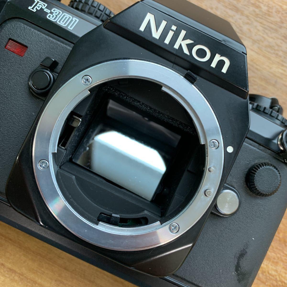 返品不可 ジャンク Nikon F 301 +minolta 110 zoom markⅡ 動作未確認 #j492_画像3