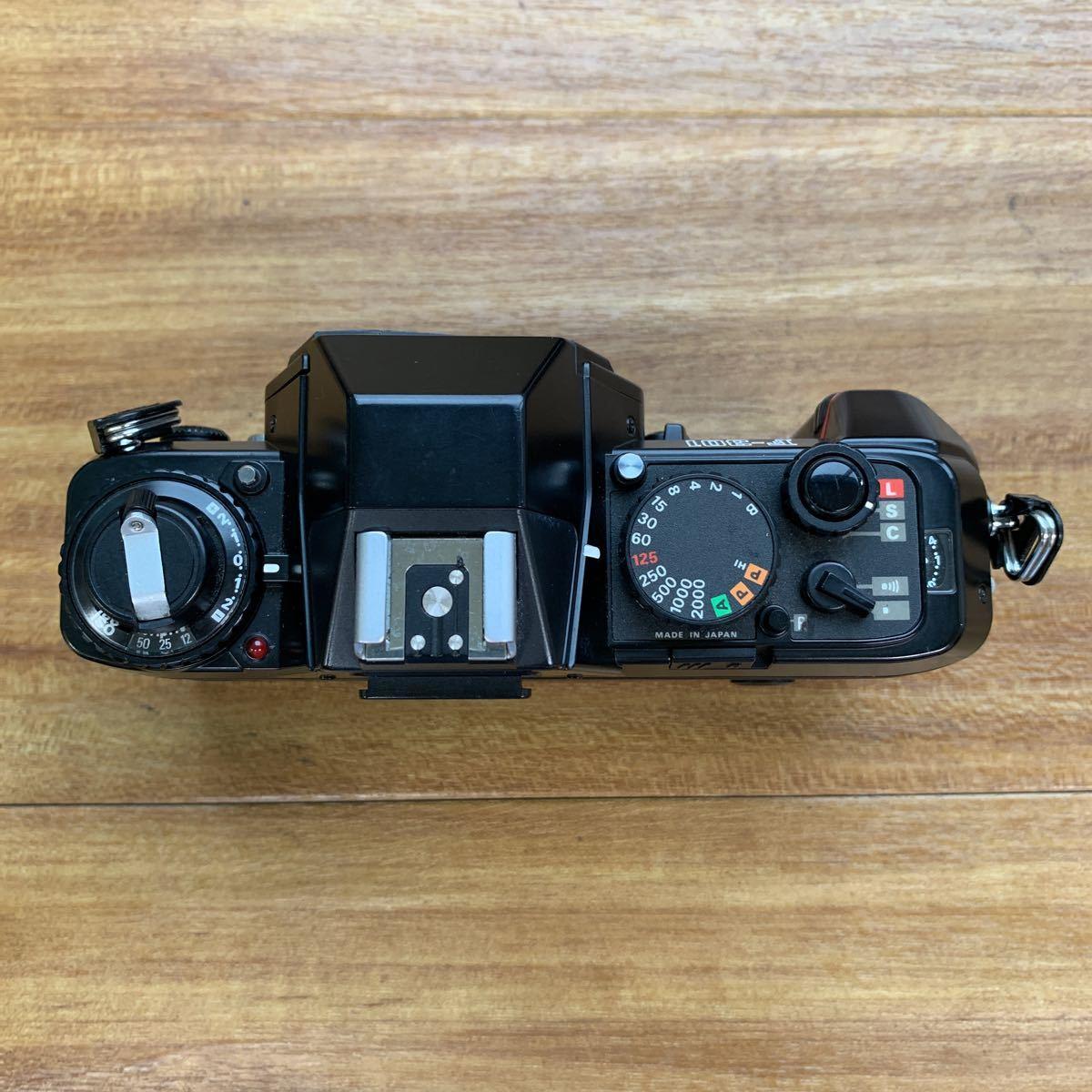 返品不可 ジャンク Nikon F 301 +minolta 110 zoom markⅡ 動作未確認 #j492_画像4