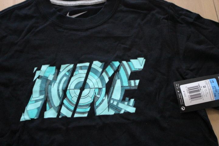 新品 ナイキ 黒Tシャツ 150 NIKE_画像2