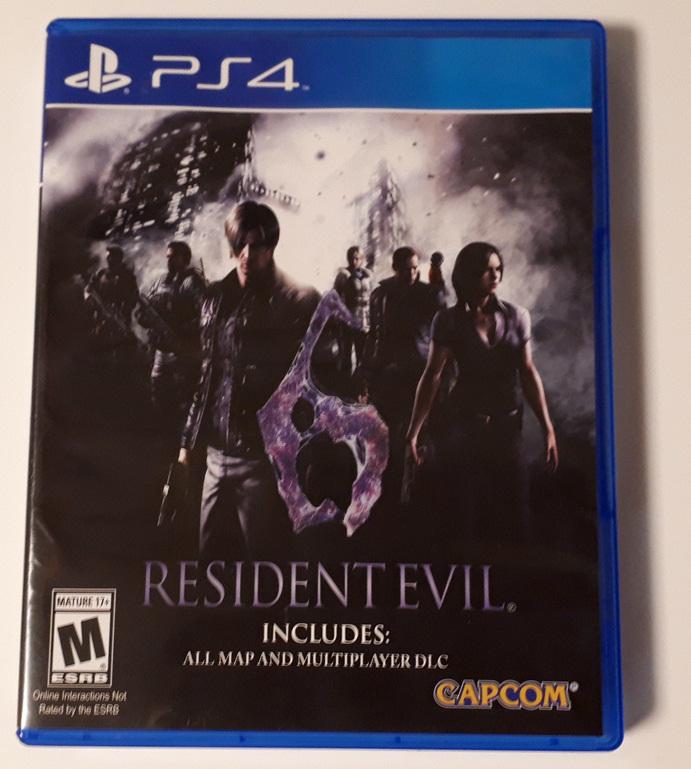 RESIDENT EVIL 6 バイオハザード6 北米版 PS4