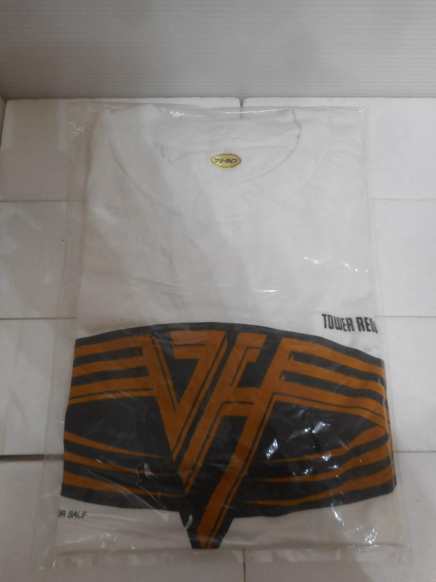 VAN HALEN ヴァンヘイレン タワレコ 非売品 Tシャツ  タワーレコード_画像1