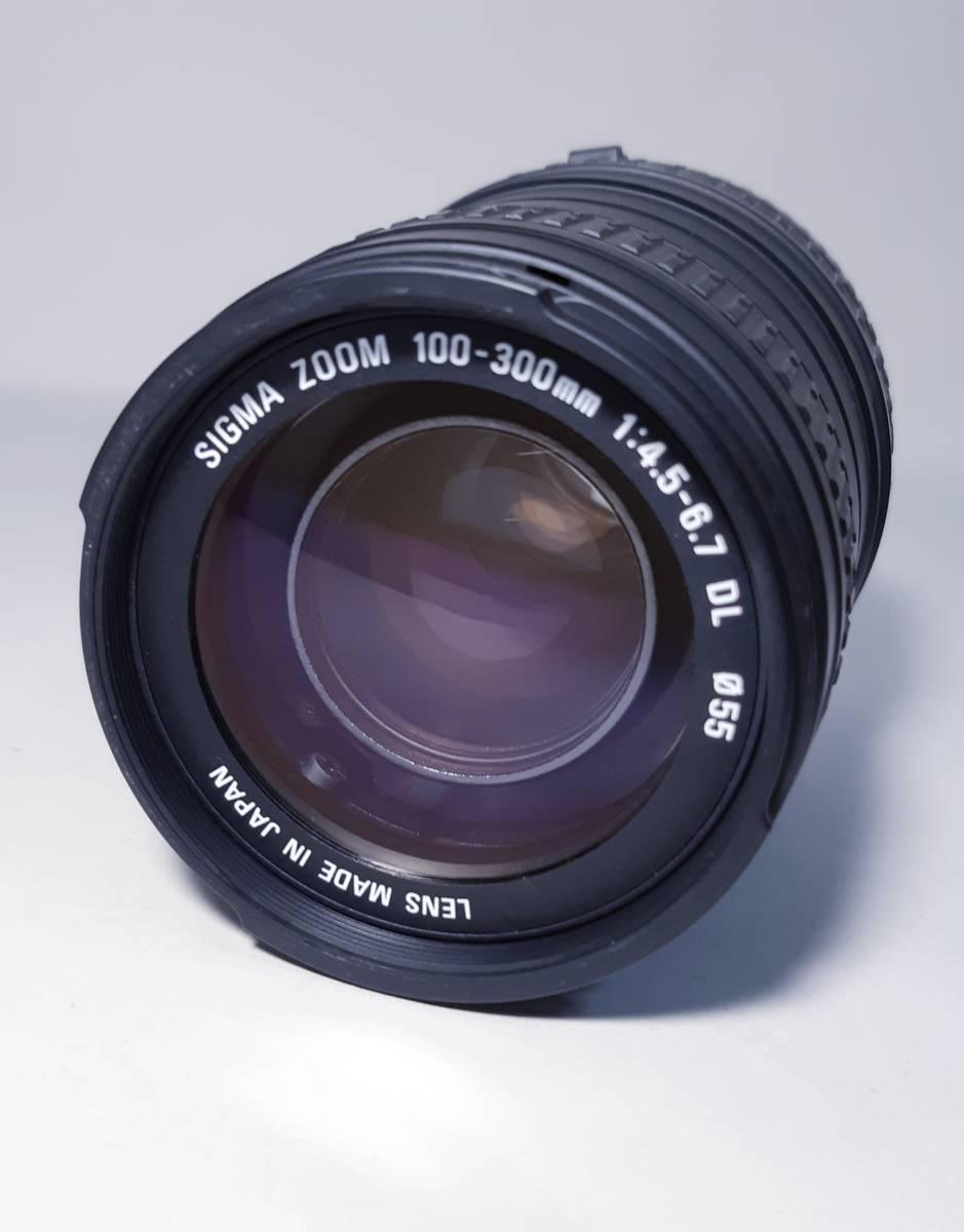 ☆極上美品 SIGMA(キャノンマウント) 100-300㎜ F4.5-6.7 DL _画像2