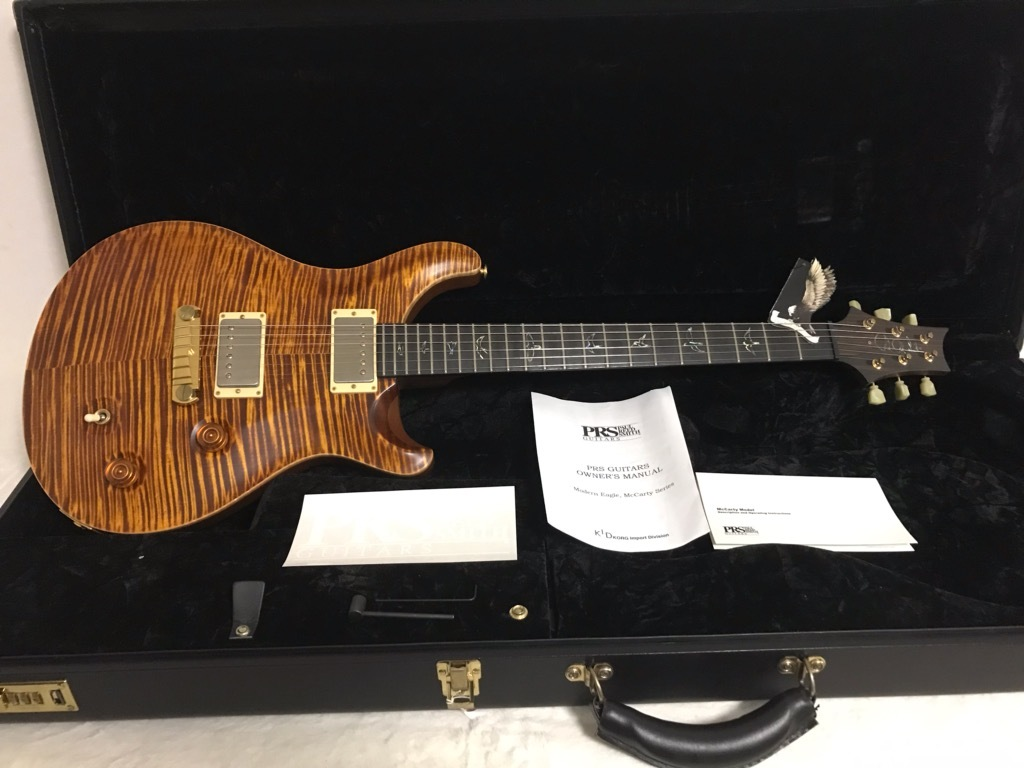 Paul Reed Smith(PRS) McCarty Artist Package Roseneck 2008 McCarty Amber _画像2