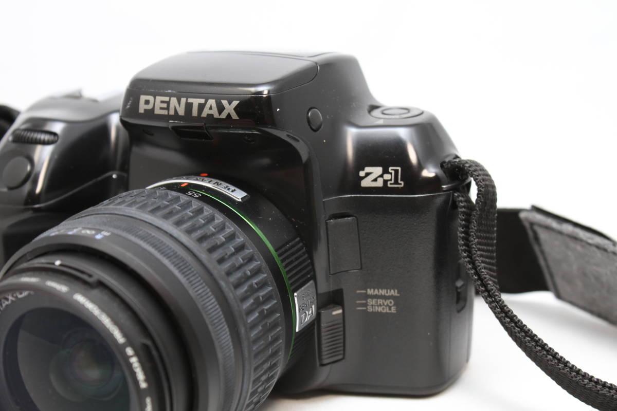 ペンタックス PENTAX Z-1 レンズセット レンズ smc PENTAX-DA 18-55mm AL II F3.5-5.6_画像2