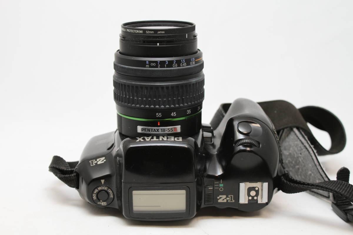 ペンタックス PENTAX Z-1 レンズセット レンズ smc PENTAX-DA 18-55mm AL II F3.5-5.6_画像6