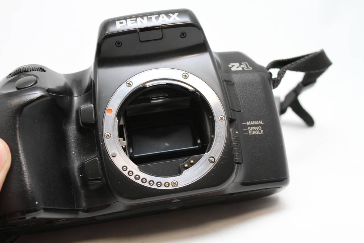 ペンタックス PENTAX Z-1 レンズセット レンズ smc PENTAX-DA 18-55mm AL II F3.5-5.6_画像7