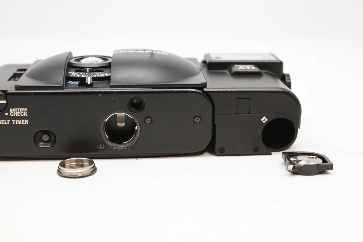 シャッターOK オリンパス OLYMPUS XA2 Electronic Flash A11付 フィルムカメラ レンズ D.ZUIKO 35mm f3.5_画像8