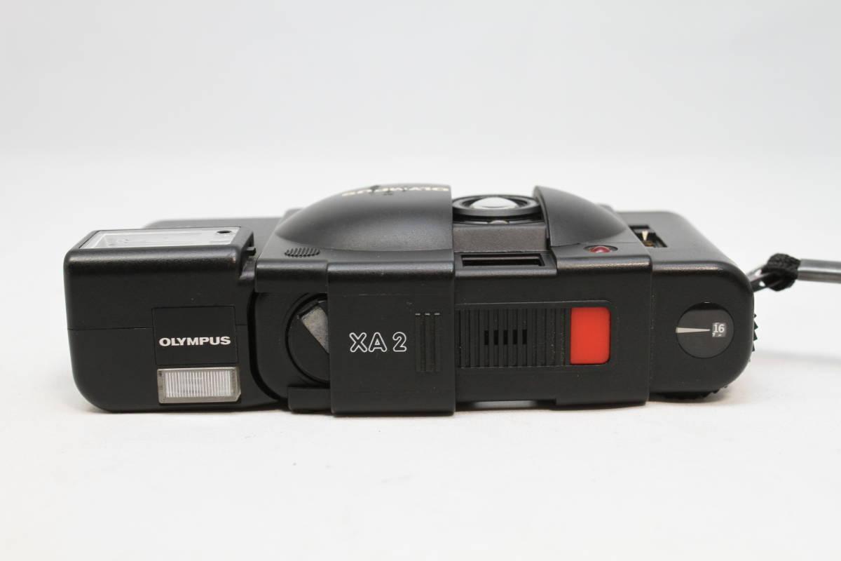 シャッターOK オリンパス OLYMPUS XA2 Electronic Flash A11付 フィルムカメラ レンズ D.ZUIKO 35mm f3.5_画像6