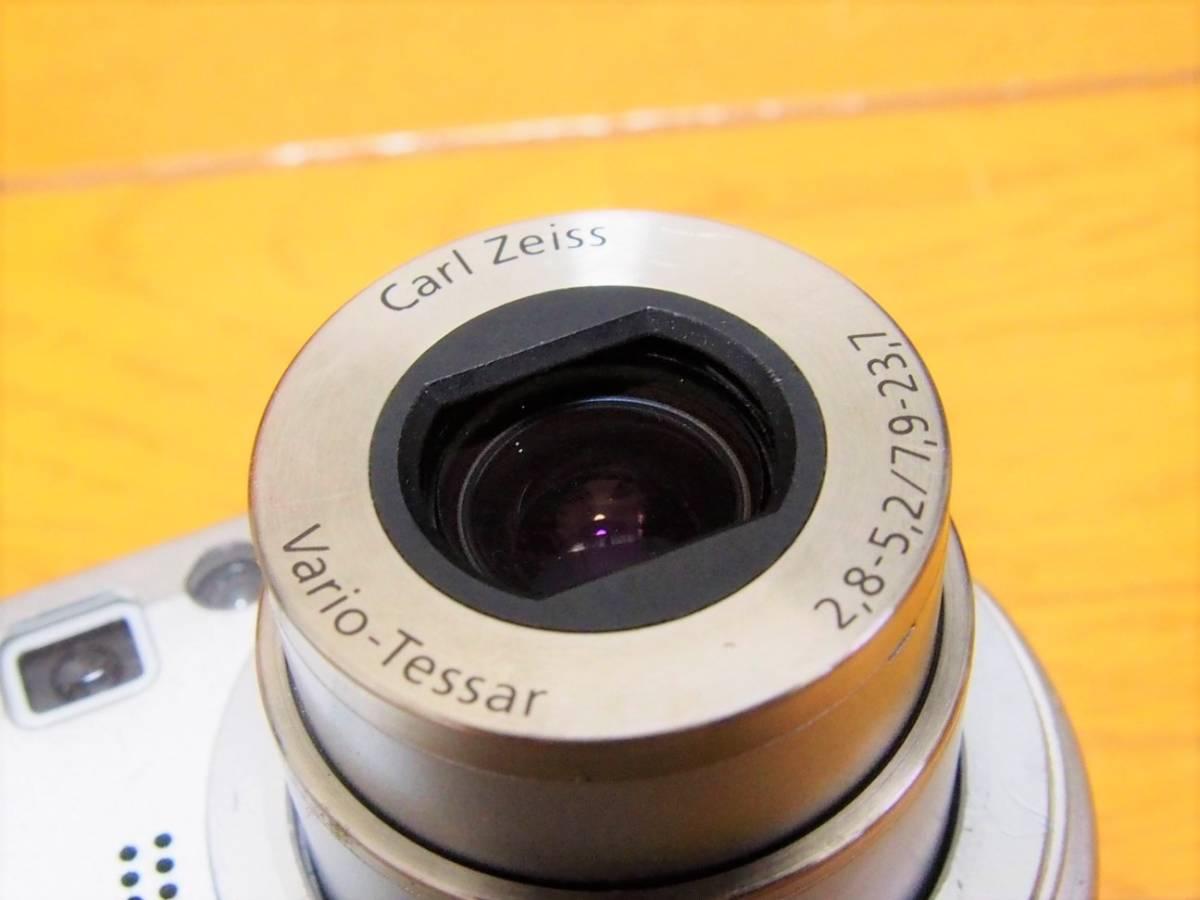 可動ジャンク SONY CyberShot DSC-P100 500万画素 512MB メモリースティック付き 付属品有_画像4
