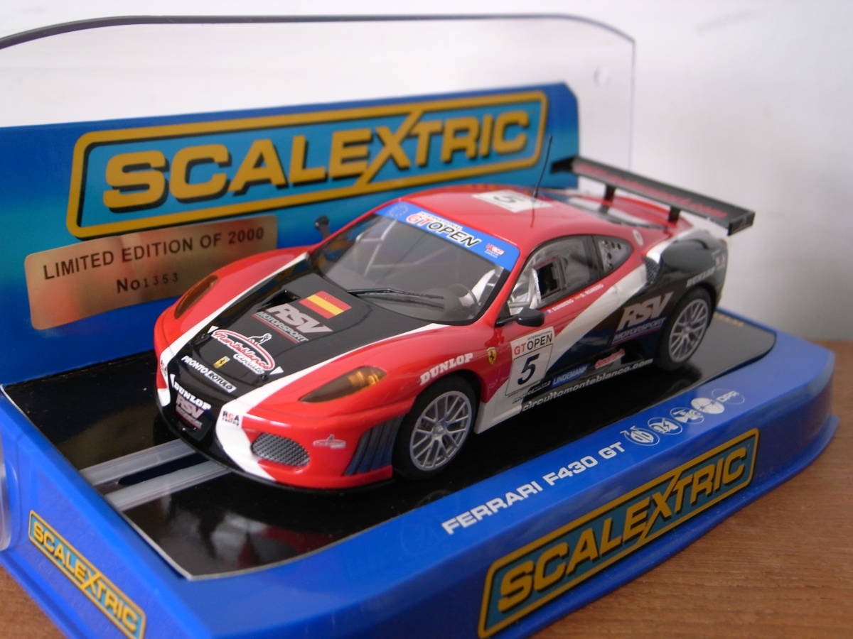 1/32 Scalextric Ferrari F430 GT RSV Motorsports LIMITED EDITION 限定品