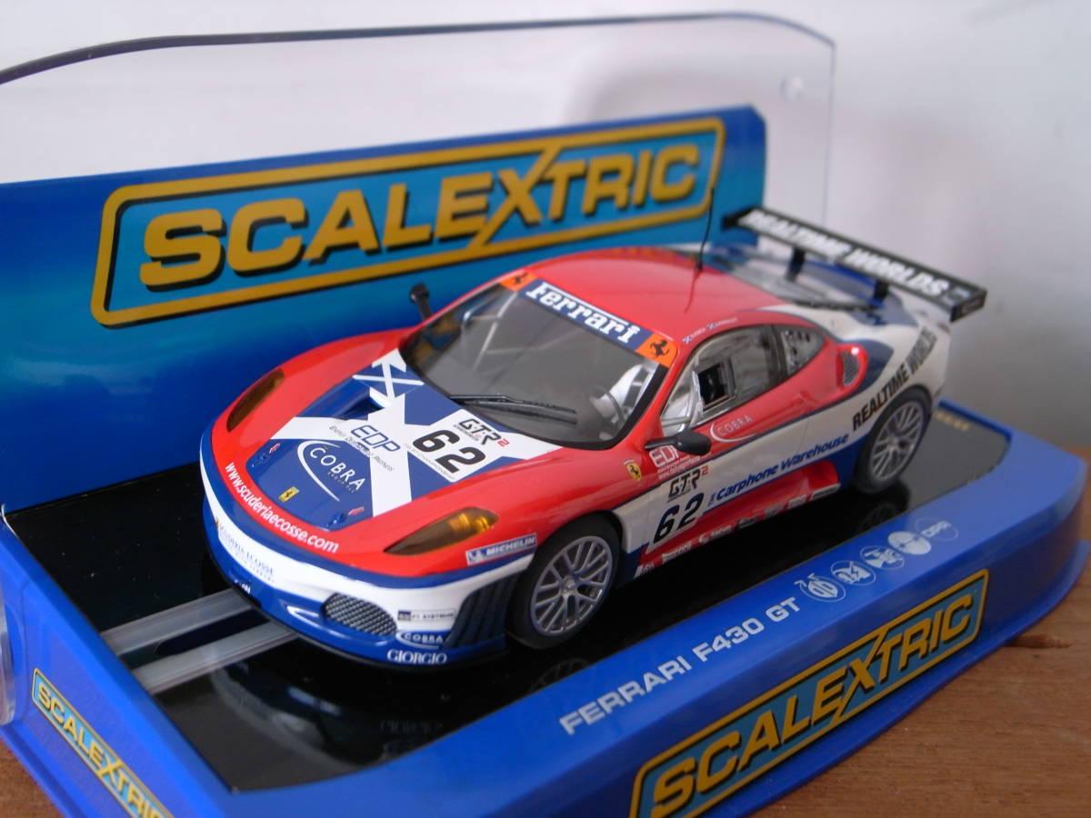 1/32 Scalextric Ferrari F430 GT No,62