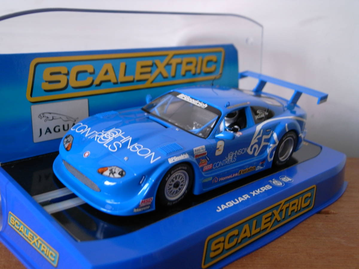 1/32 Scalextric Jaguar XKRS ROCKET Motorspors No.3