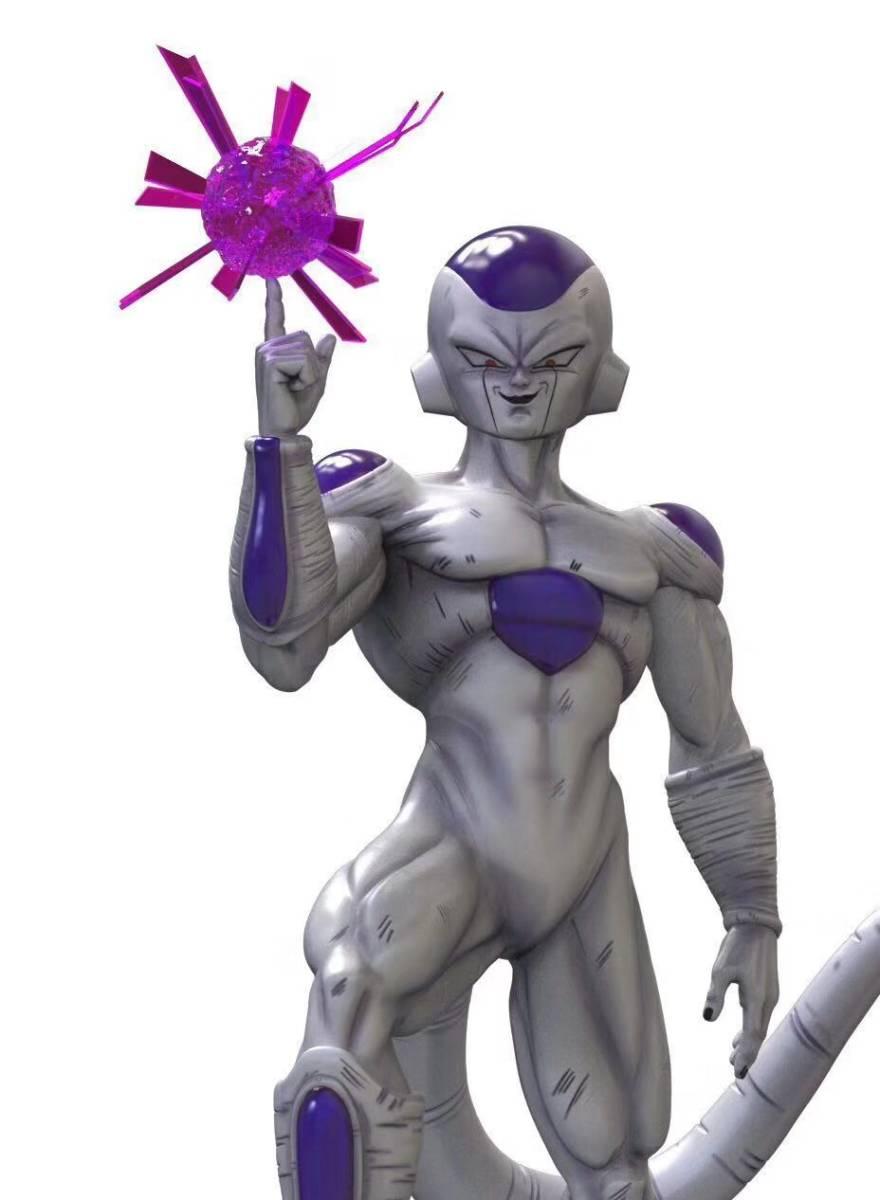 『ドラゴンボール』新作予約 DORAGON BALL フリーザー 1/3 フィギュア 彫像 X数量限定品 樹脂GK完成品 改造 _画像2