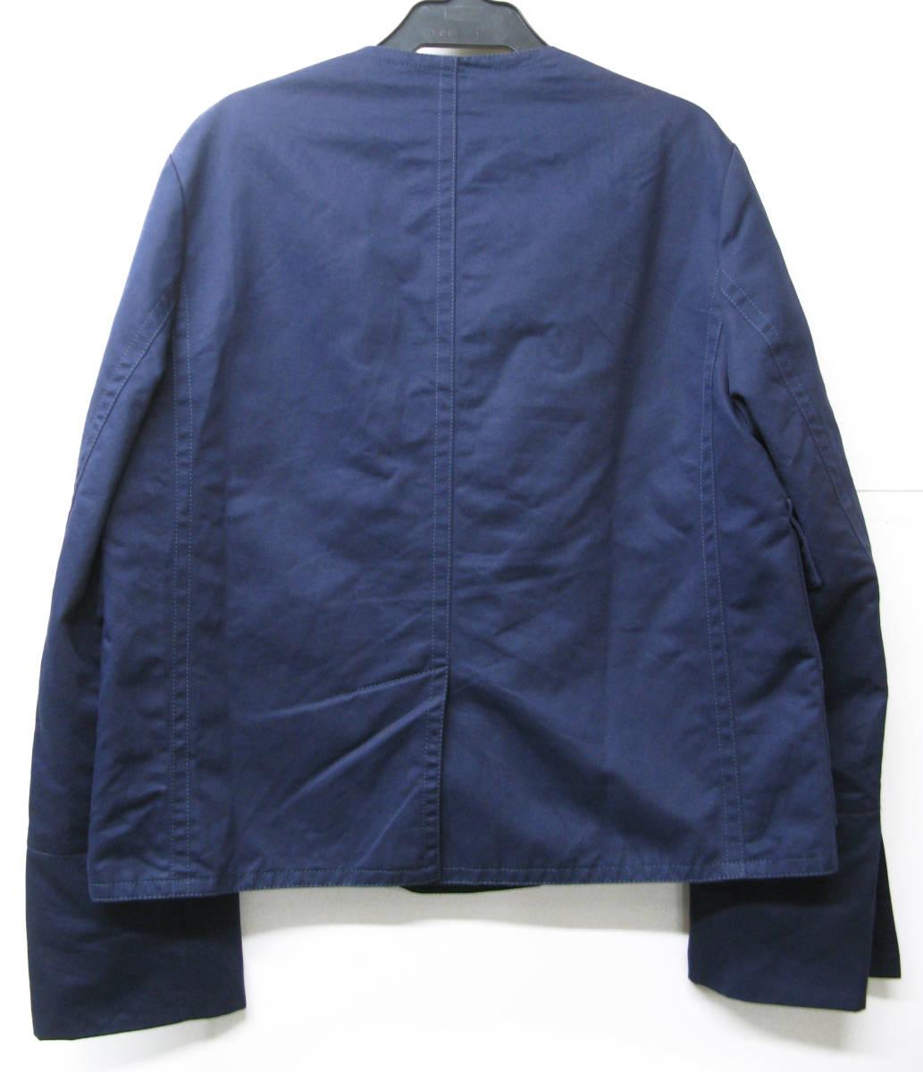 マルニ MARNI:綿/麻混紡素材 ジャケット 紺 40 ( jacket ブルゾン _画像2