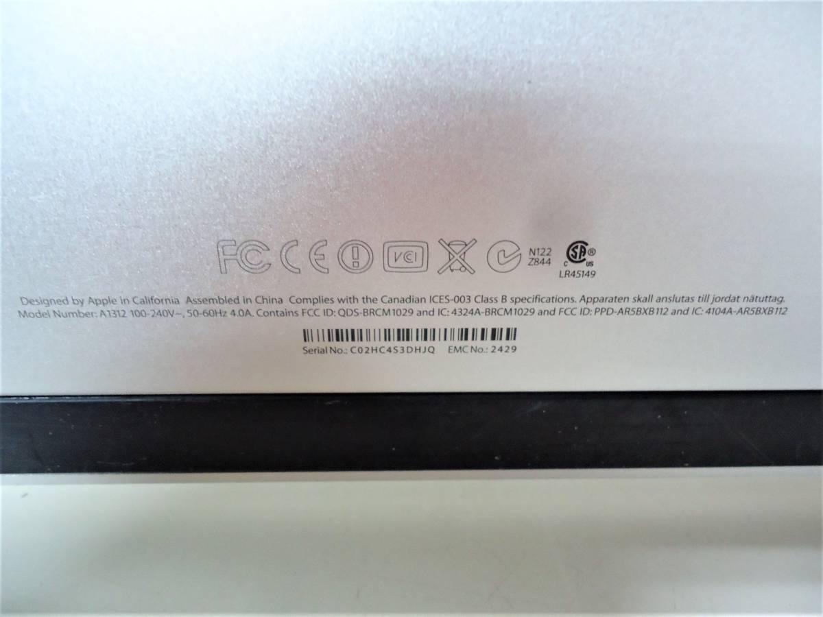 ★☆iMac A1312 EMC2429☆27 inch☆ジャンク☆★_画像6