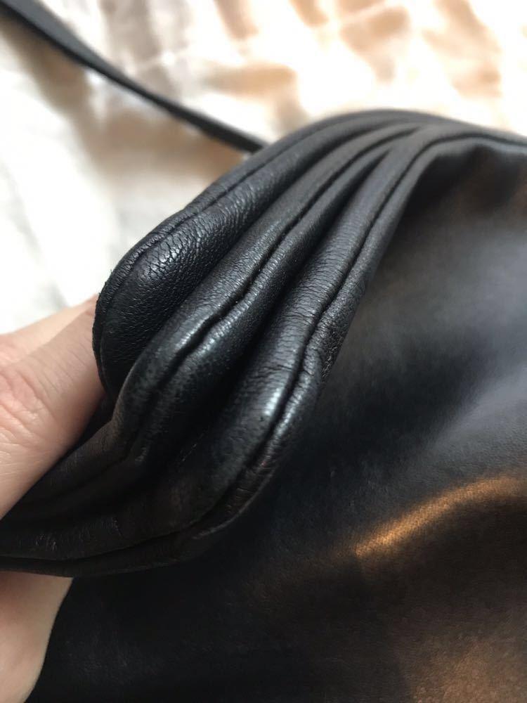 CELINE セリーヌ トリオバッグ ショルダーバッグ 正規品 ブラック 黒 ラージ_画像9