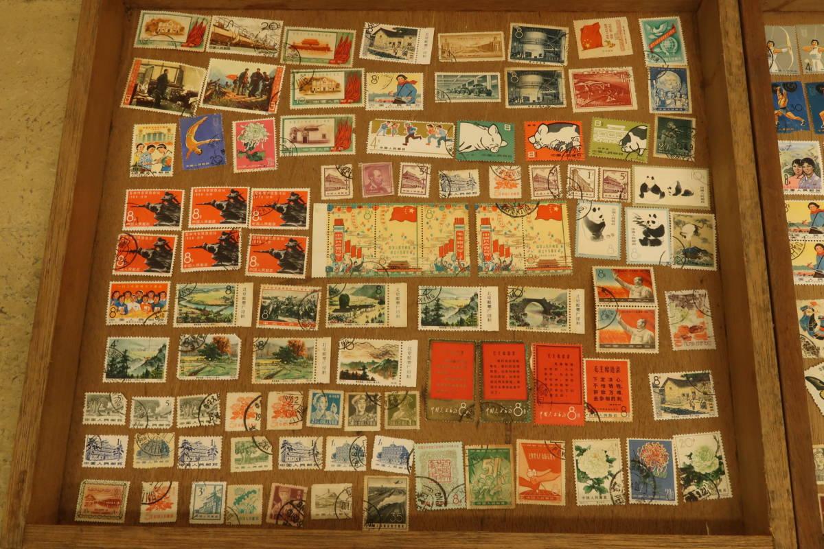 古い 中国 切手 いろいろまとめて たくさん 中華人民郵政 毛主席語録 パンダ 中華人民共和国成立十周年 消印有 使用済み_画像2