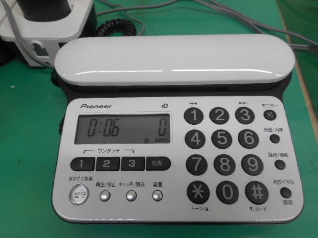 Pioneer TF-SD15w デジタルコードレス電話機  子機2台/動作品_画像5