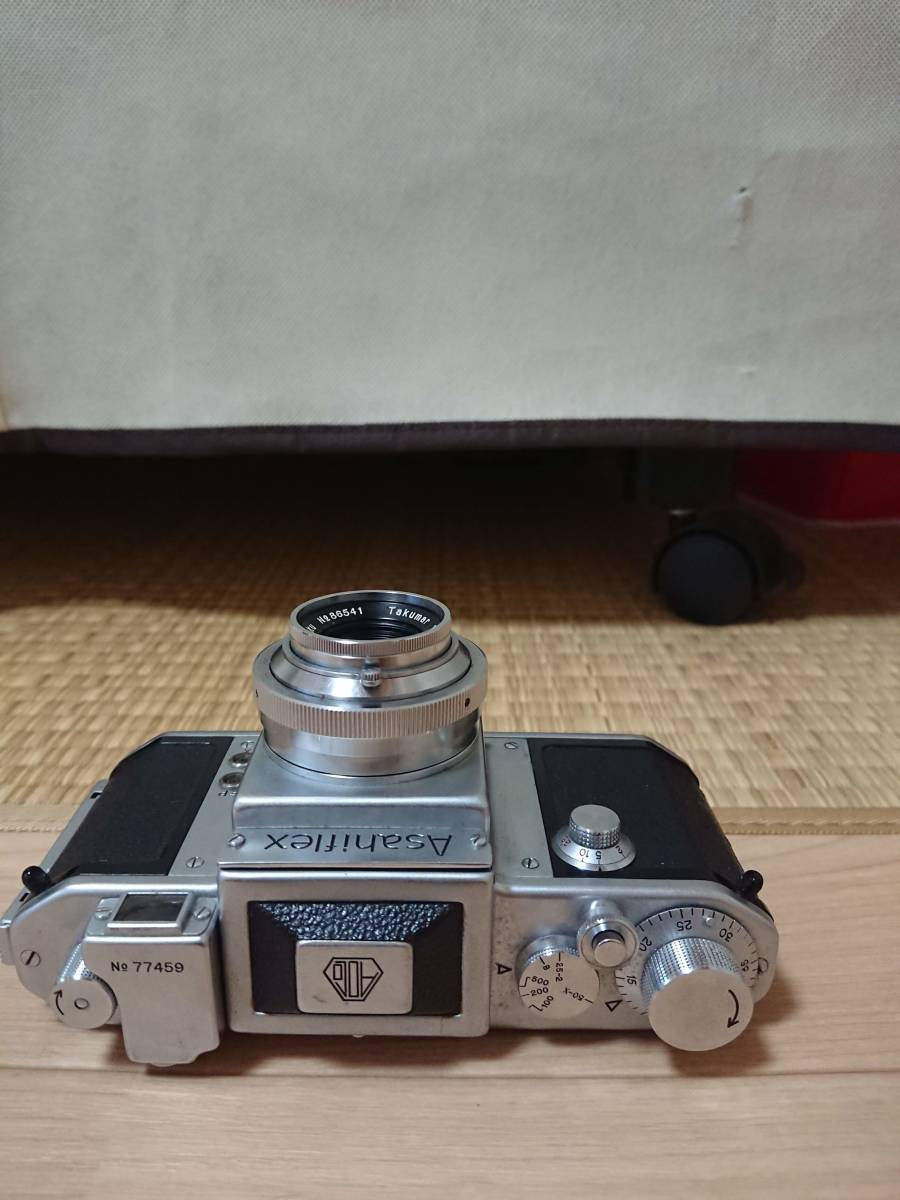 Asahiflex レンジファインダー ボディ Takumar 1:3.5 50㎜ _画像2