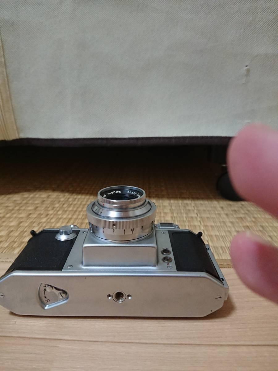 Asahiflex レンジファインダー ボディ Takumar 1:3.5 50㎜ _画像3