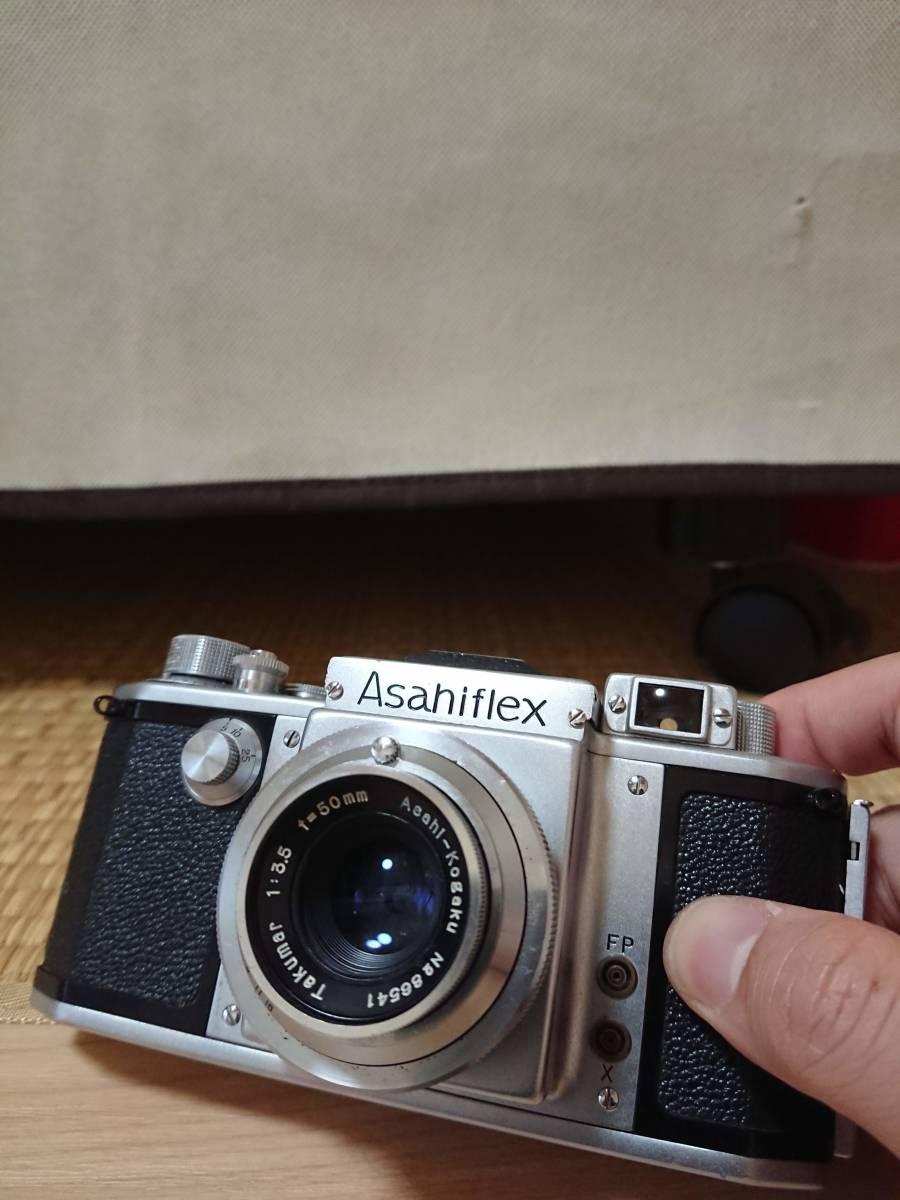 Asahiflex レンジファインダー ボディ Takumar 1:3.5 50㎜ _画像4