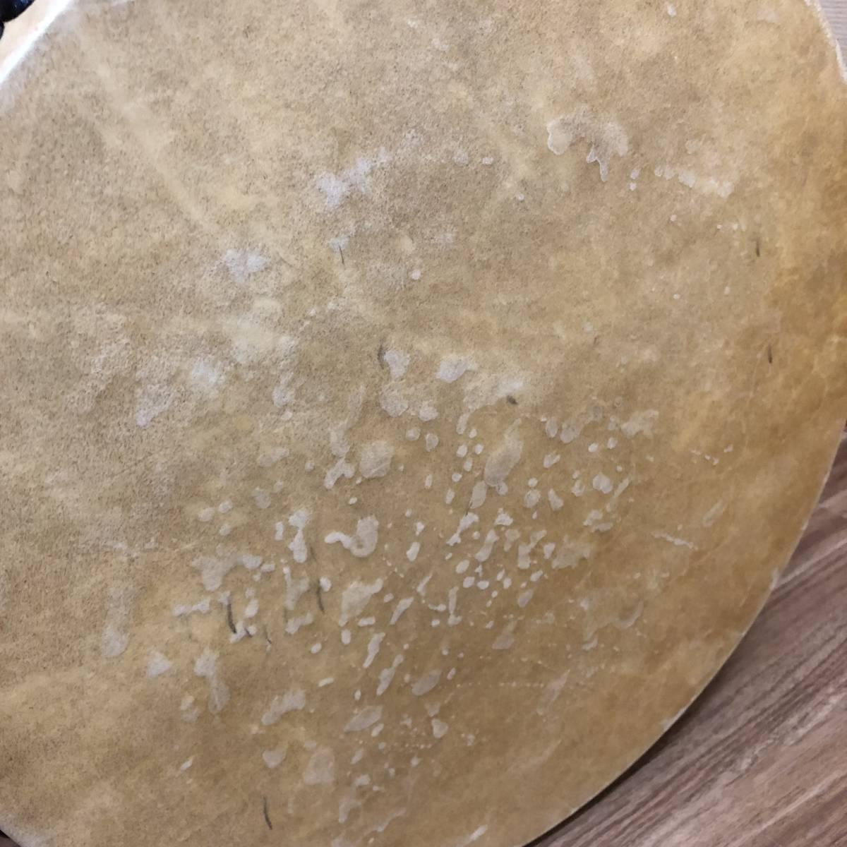 ■和楽器 平太鼓 神輿太鼓 和太鼓 直径40cm ソフトケース バチ付き 祭事_画像2