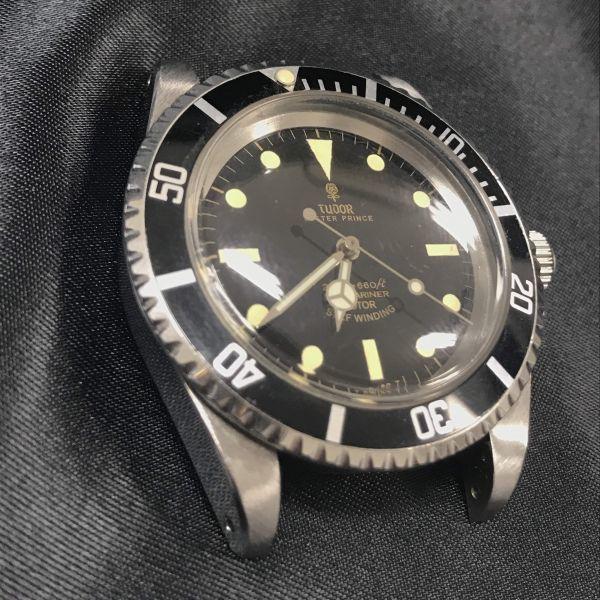 稼動品 TUDOR チュードル サブマリーナ Ref 7016/0 時計 ケースのみ 腕時計 メンズ 小薔薇 オイスタープリンス 自動巻き_画像8