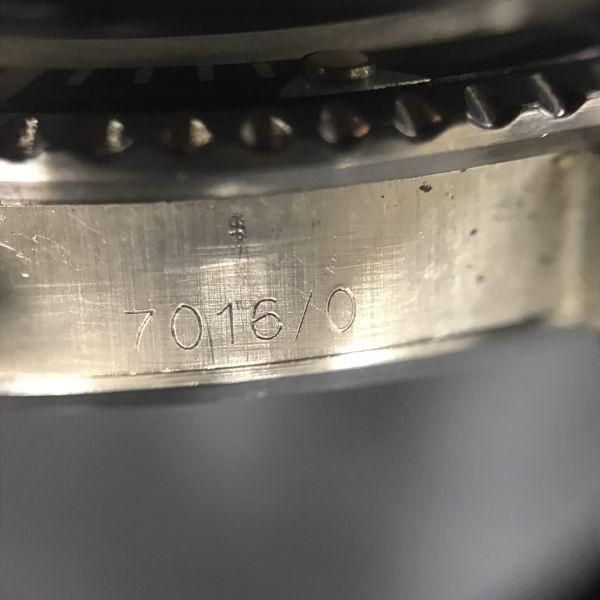 稼動品 TUDOR チュードル サブマリーナ Ref 7016/0 時計 ケースのみ 腕時計 メンズ 小薔薇 オイスタープリンス 自動巻き_画像7