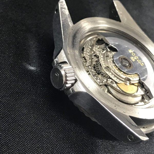 稼動品 TUDOR チュードル サブマリーナ Ref 7016/0 時計 ケースのみ 腕時計 メンズ 小薔薇 オイスタープリンス 自動巻き_画像9