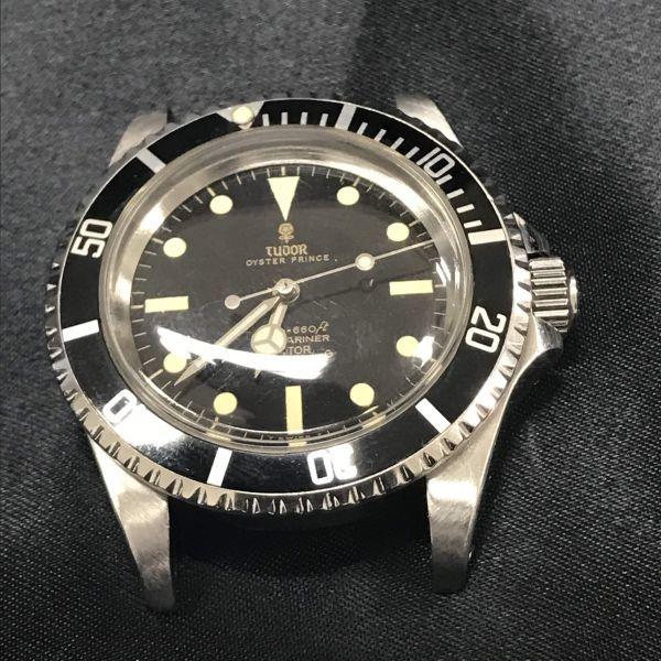 稼動品 TUDOR チュードル サブマリーナ Ref 7016/0 時計 ケースのみ 腕時計 メンズ 小薔薇 オイスタープリンス 自動巻き