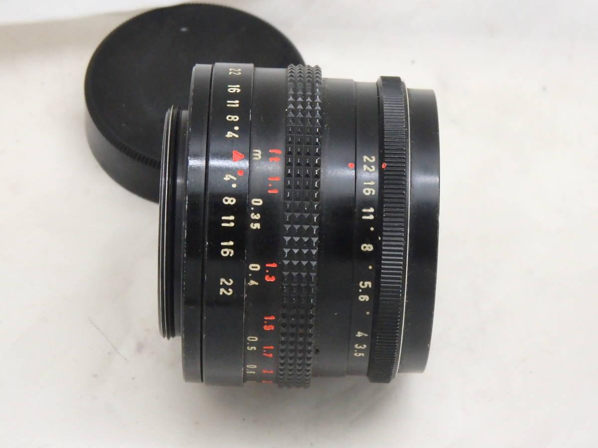 ドイツ製 PENTACON 30mm f3.5 M42マウント  ブラック_画像3