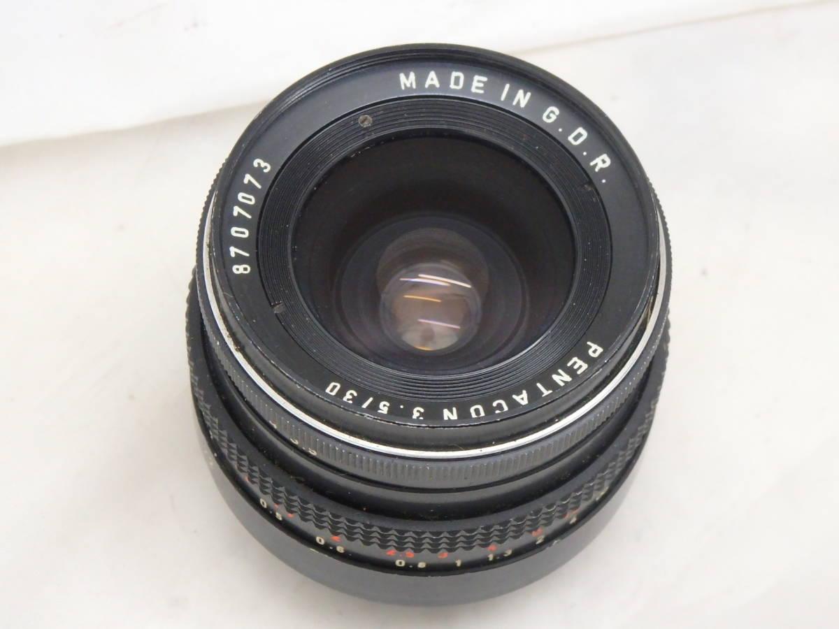 ドイツ製 PENTACON 30mm f3.5 M42マウント  ブラック