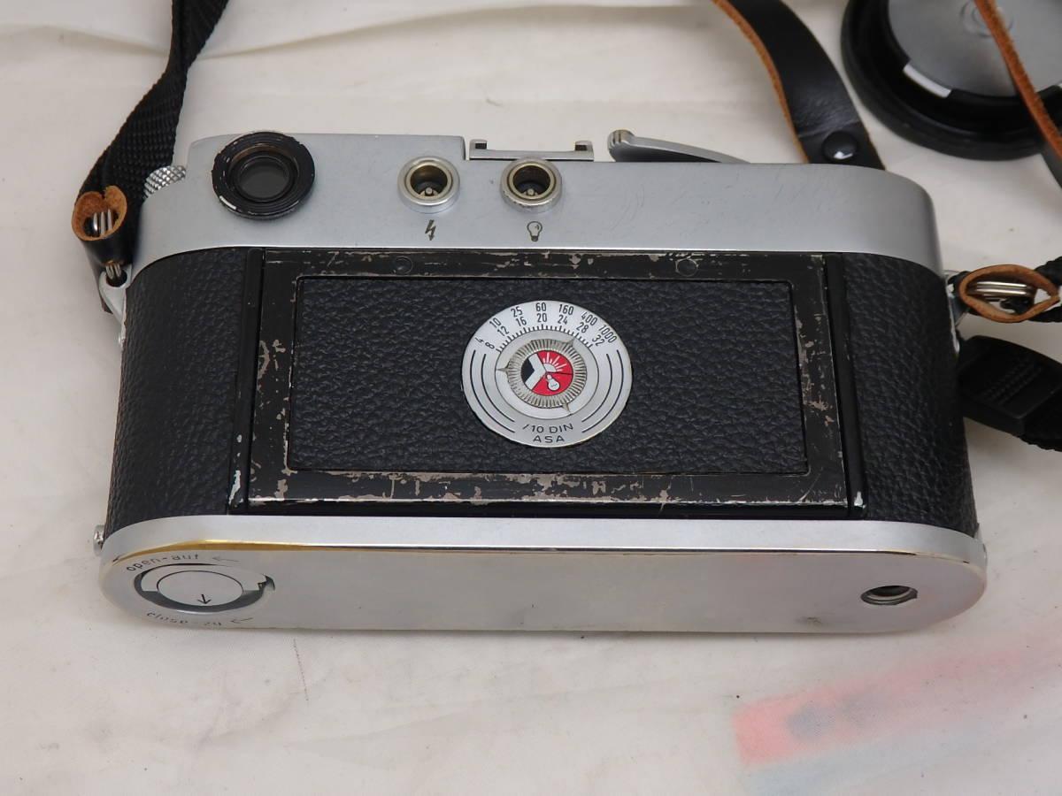 Leica M3 キリ番 ダブルストローク ボディ 完動_画像3