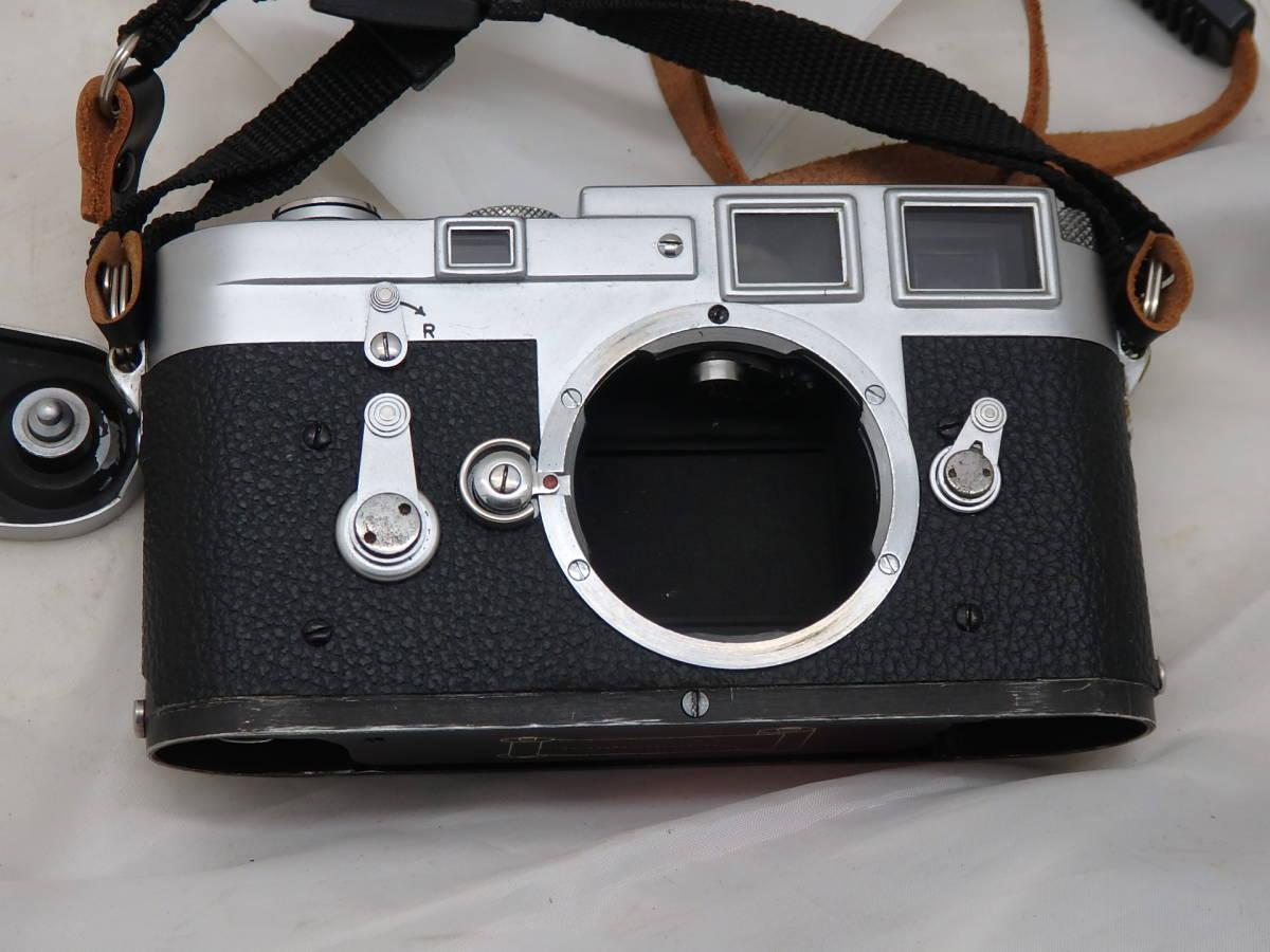 Leica M3 キリ番 ダブルストローク ボディ 完動_画像5