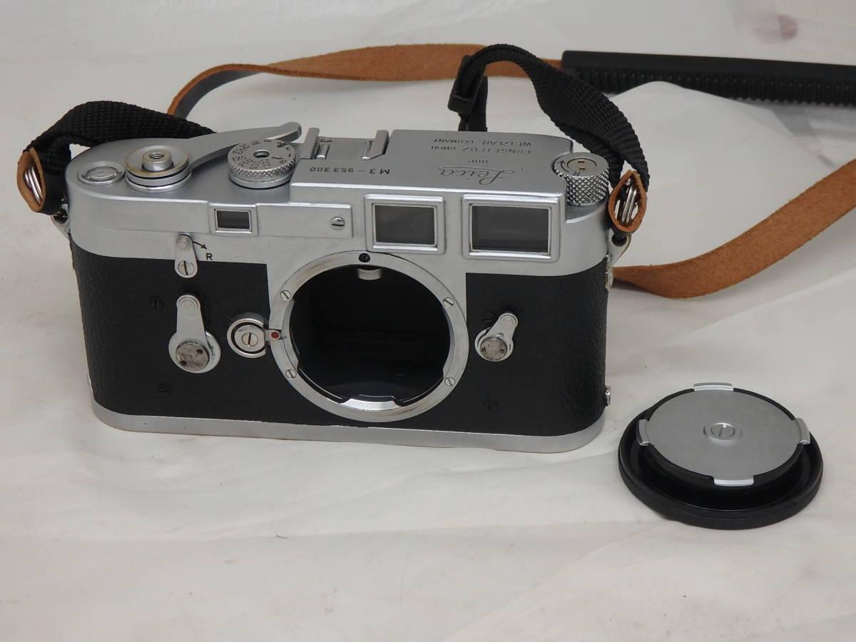Leica M3 キリ番 ダブルストローク ボディ 完動