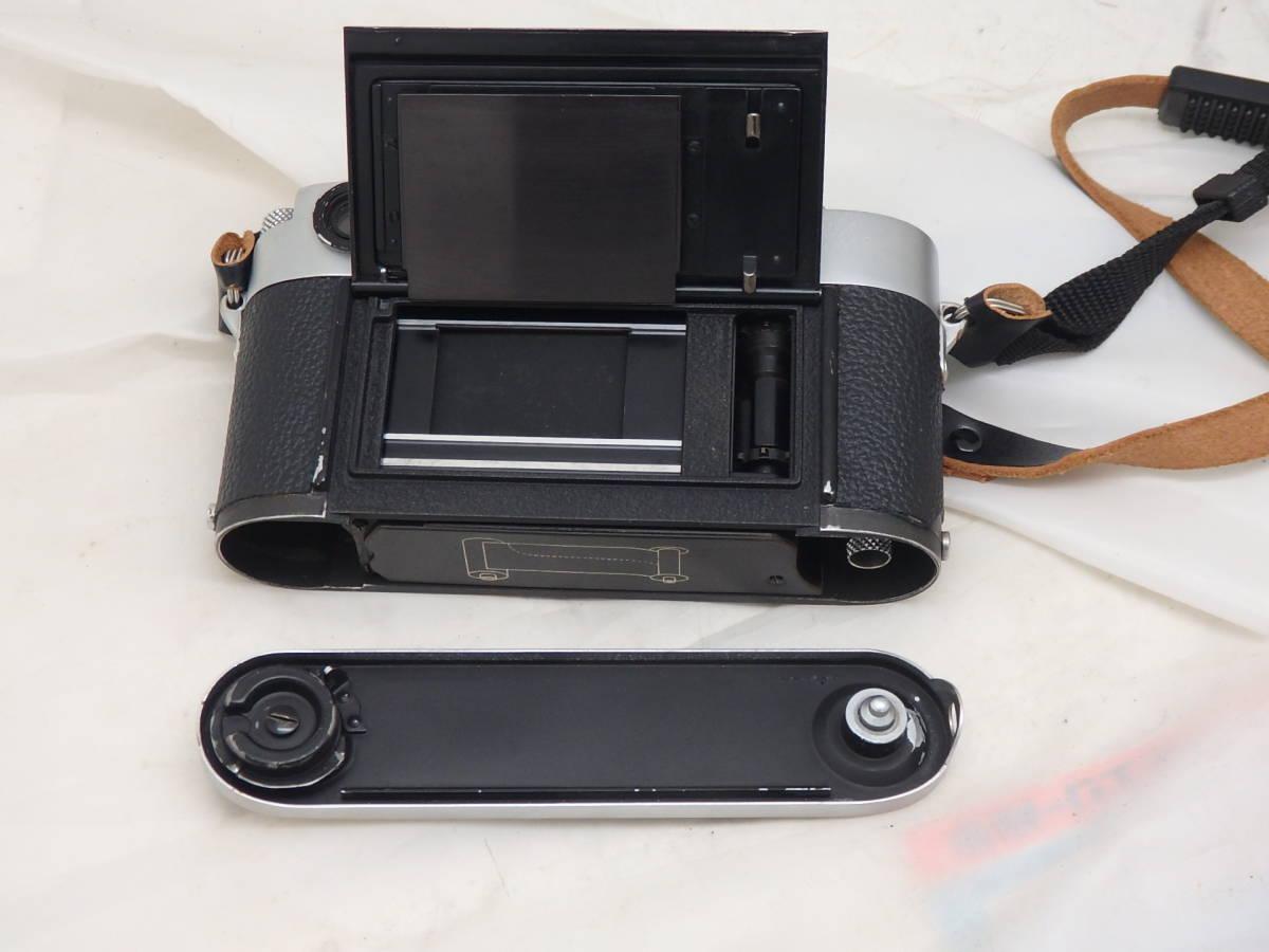 Leica M3 キリ番 ダブルストローク ボディ 完動_画像4