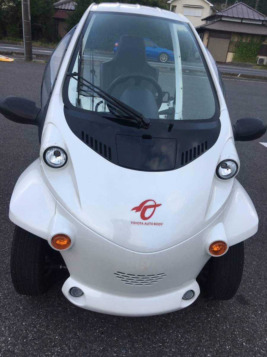 TOYOTA超小型EV【コムス(coms)電気自動車】電動ミニカー EV 原付ミニカー登録 ECO_画像2