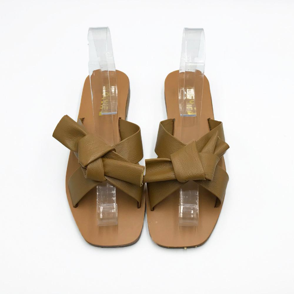 上品 サンダル レディース ミュール 靴 ビーチサンダル スリッパ フラットシューズ ぺたんこ 美脚 ローヒール_画像6