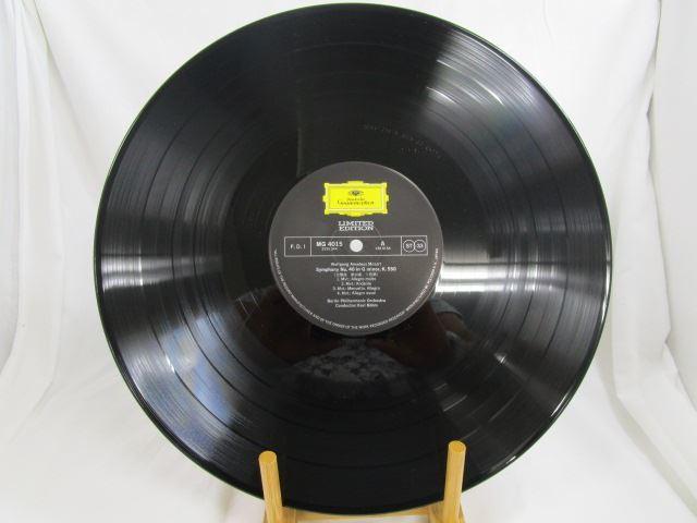 [190821110] 完全限定盤 LIMITED EDITION ベーム/モーツァルト、交響曲第40番ト短調、第41番ハ長調〔ジュピター〕 LP盤レコード 【中古】 _画像2