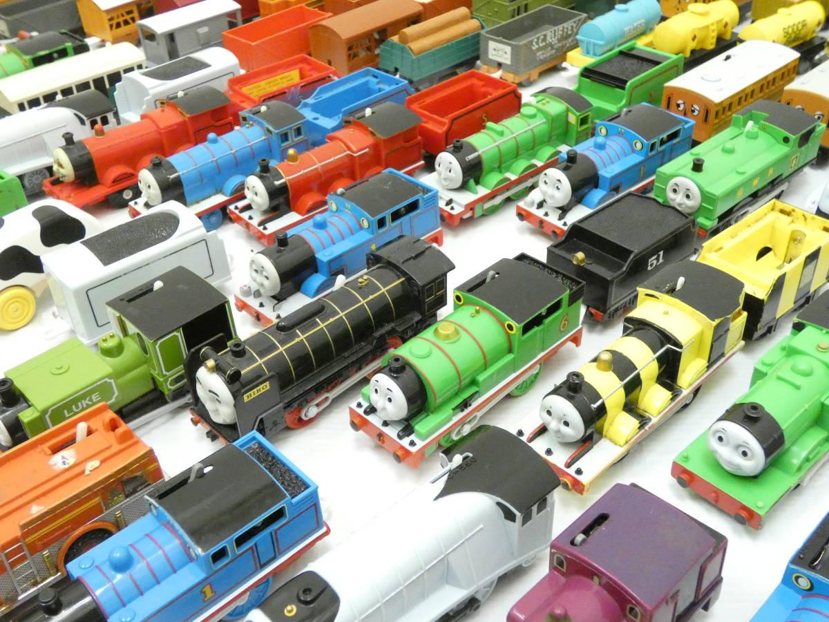 U1304/【1円スタート】プラレール トーマス 車両 ジャンク 大量 処分 200台_画像6