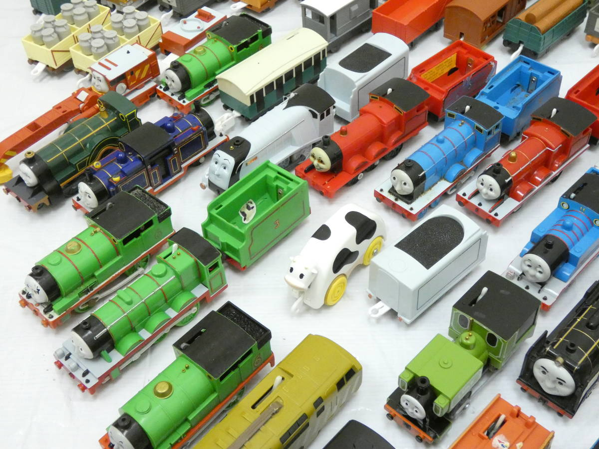 U1304/【1円スタート】プラレール トーマス 車両 ジャンク 大量 処分 200台_画像5