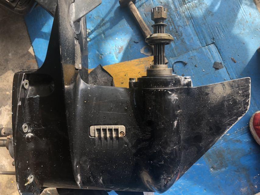 スズキDF40.50Tモデル、DF40.50.60Aモデルに取り付け可能 ロワーユニットASSY 中古品 トランサム Lタイプ_画像2