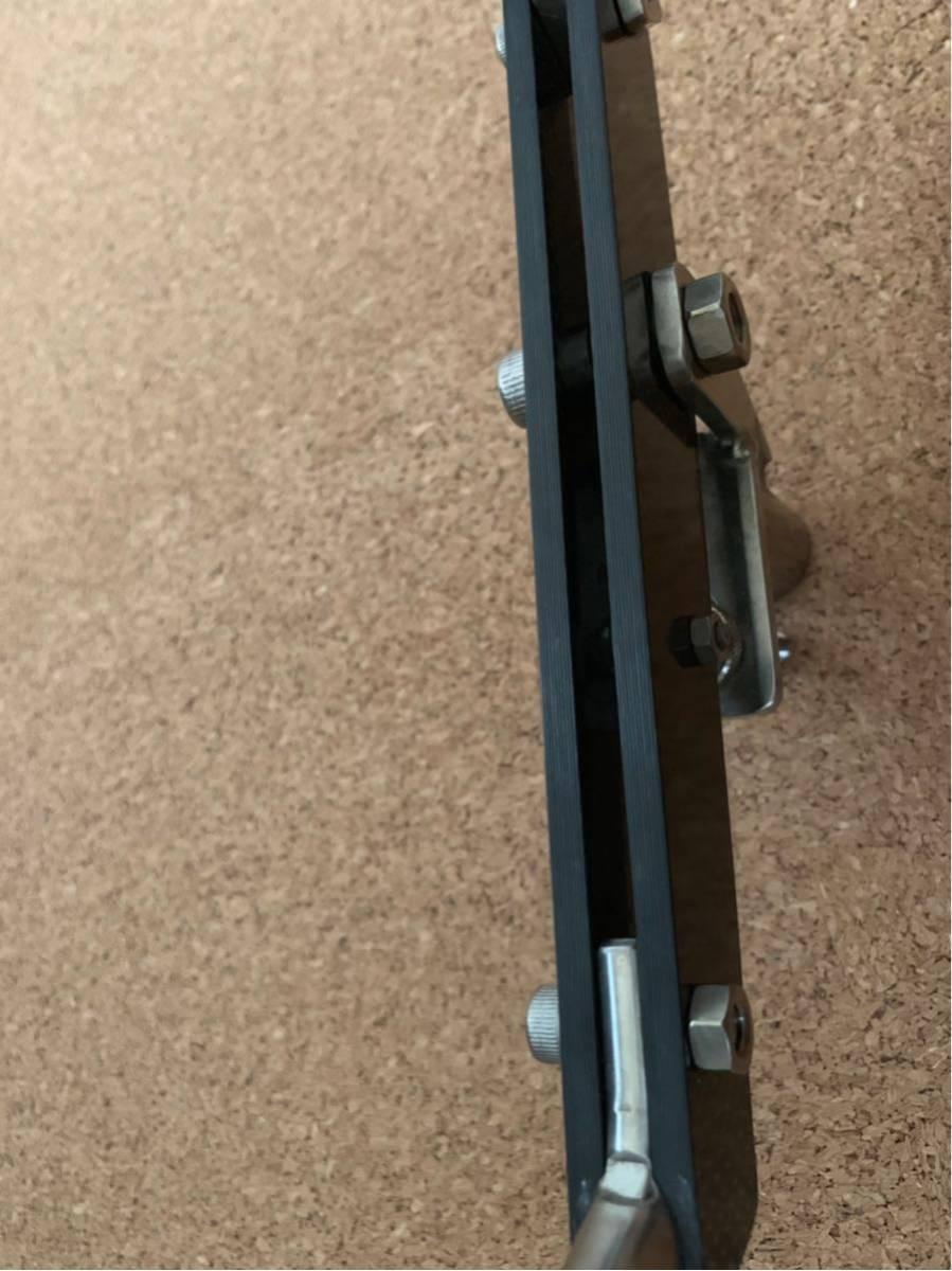 石鯛 チタン+カーボン竿受け、チタンピトン50cm_画像4